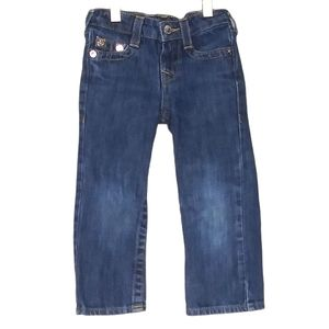True Religion Straight Leg Toddler 3T Denim Jeans